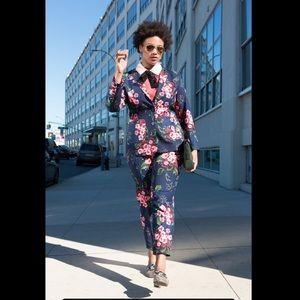 Eloquii floral print pantsuit JACKET 16 / PANTS 14